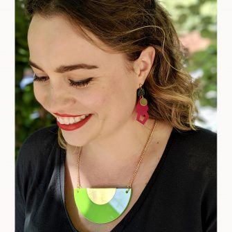 Colourful Acrylic Jewellery by A Little Idea