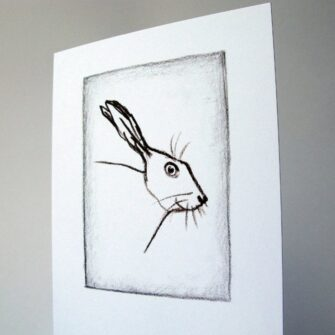 Irish Hare Card, Mireog