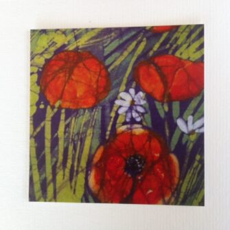 Carmel Smyth Art - Poppy