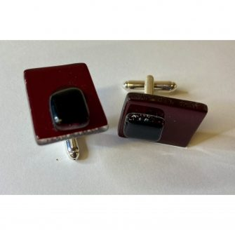 ELKE WESTEN GLASS CUFFLINKS