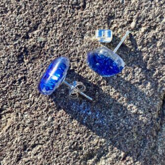 ELKE WESTEN GLASS EARRINGS