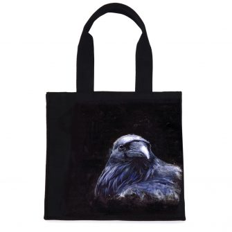 Raven Tote Bag by Kelly Hood