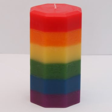 Rainbow/Pride Candle
