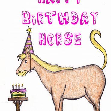 Happy Birthday Horse...