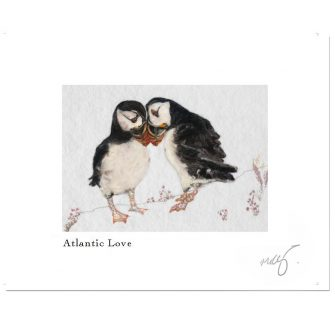 Wild Atlantic Love Print