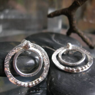Inna Designs, Sterling Silver Earrings