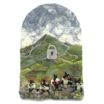 shepherds greeting Card, Derryaun Crafts, Irish Greeting Card