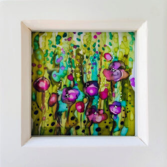 Paintings with Alcohol Ink