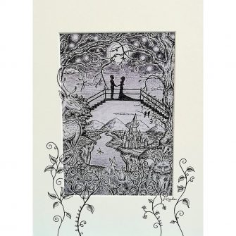Happily Ever After Print by Jenni Kilgallon, Jen's Fairytales