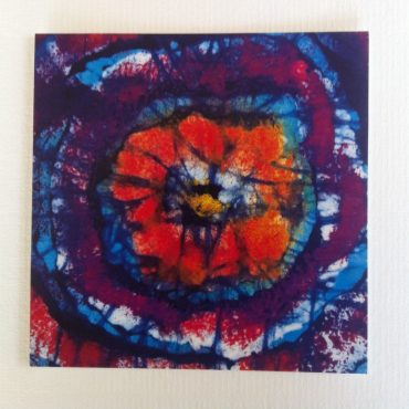 Abstract Flower Greeting...