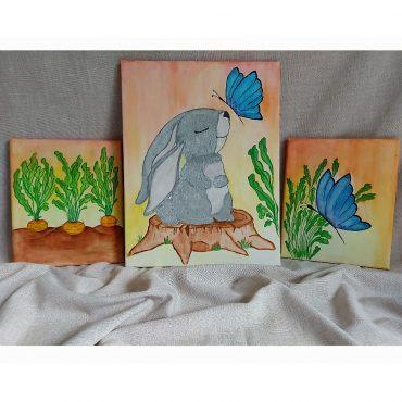 Bunny Wall Canvas...