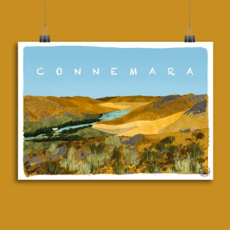 Connemara Art Print_Explore with Marion