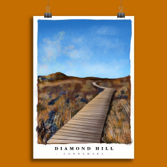 Diamond Hill Art Print_Explore with Marion