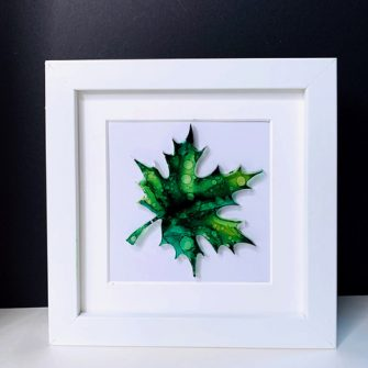 Resin Leaf Art