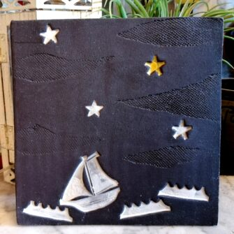 Follow your Star Ceramic Wall Tile
